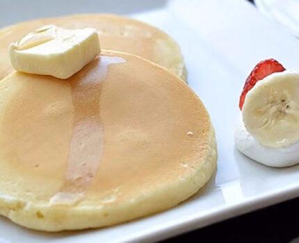 甜甜的香蕉小饼,快速制作哦!