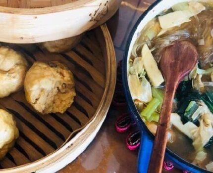 周末煮妇的一餐饭:粉丝锅